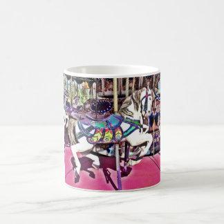 Colorful Carousel Horse at Carnival Photo Gifts Coffee Mug