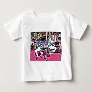 Colorful Carousel Horse at Carnival Photo Gifts T-shirts