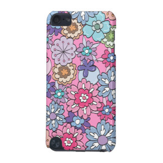 Colorful Cartoon Flowers iPod Touch (5th Generation) Covers