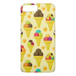 Colorful Cartoon Ice Cream Cones iPhone 8 Plus/7 Plus Case