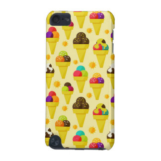 Colorful Cartoon Ice Cream Cones iPod Touch 5G Case
