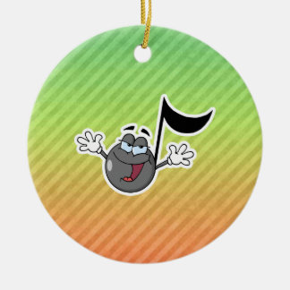 Colorful Cartoon Music Note Ornaments