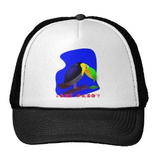 Colorful cartoon Toucan Mesh Hats