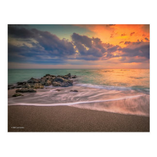 Colorful Caspersen Sunset Postcard
