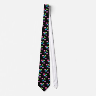 Colorful Cassette Tapes Tie