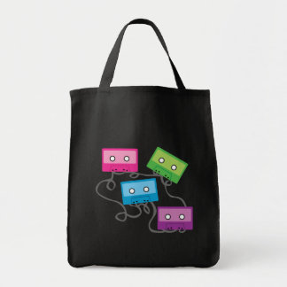 Colorful Cassette Tapes Tote Bag