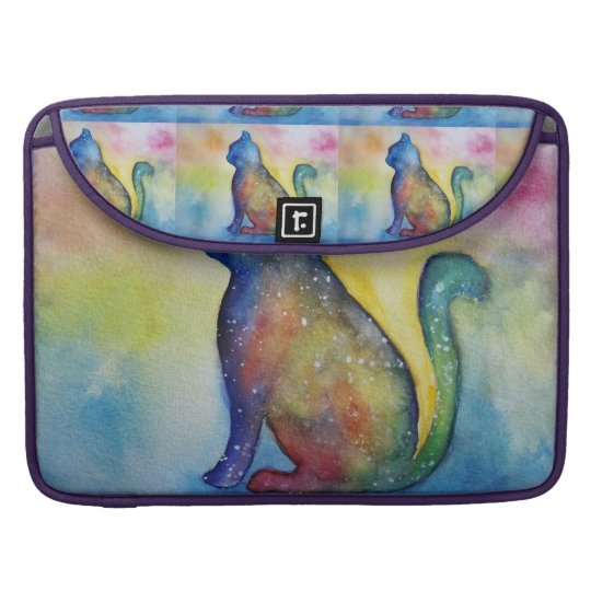 """Colorful Cat Drawing Macbook Pro 15"""" Sleeve For"""