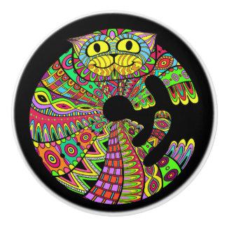 Colorful Cat Knobs - SRF