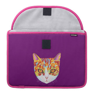 Colorful Cat MacBook Pro Sleeves