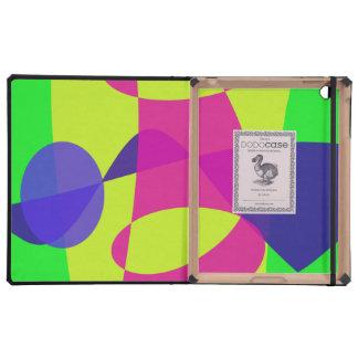 Colorful Caterpillar iPad Folio Case