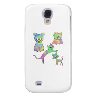 Colorful Cats. Galaxy S4 Case