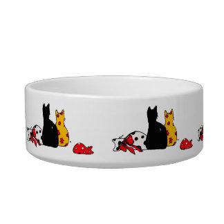 Colorful Cats Pet Bowl