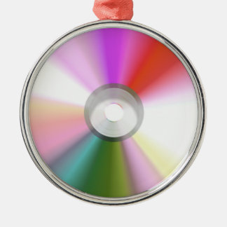 Colorful CD Ornament
