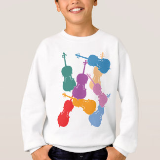 Colorful Cellos Sweatshirt