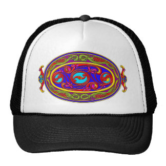 Colorful Celtic Art Tees, Totes and Gifts Trucker Hats