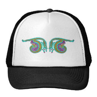 Colorful Celtic Art Tees, Totes and Gifts Mesh Hats