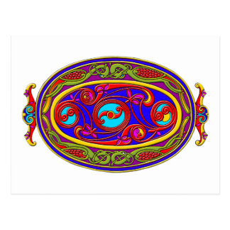 Colorful Celtic Art Tees, Totes and Gifts Postcard