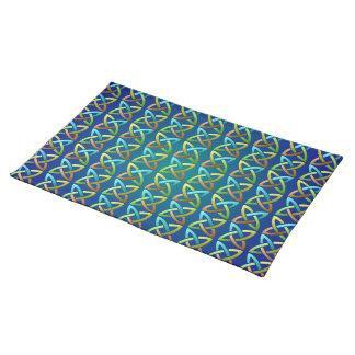 Colorful Celtic Knot Pattern Placemat