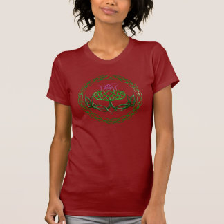 Colorful Celtic Knot Thistle T-Shirt