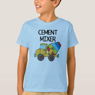 Colorful Cement Mixer Tshirt