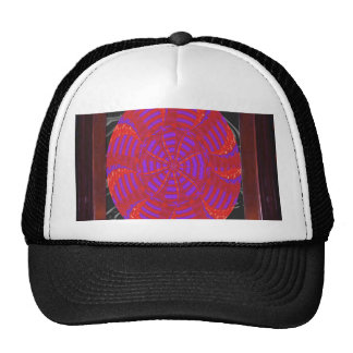 Colorful chakra energy wheel circle round gifts 99 trucker hat