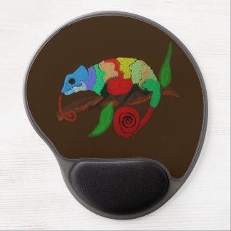 Colorful Chameleon Art Mousepad Gel Mouse Mat