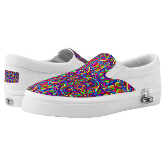 Colorful Chaos 2 Slip-On Shoes