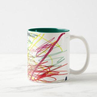 Colorful Chaos Coffee Mugs