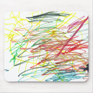 Colorful Chaos Mouse Pad