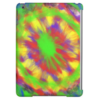 Colorful chaotic pattern iPad air cover