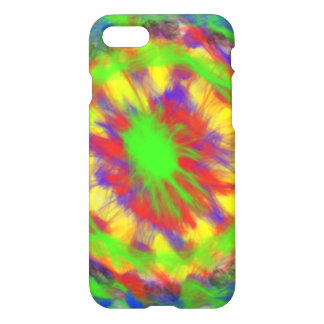 Colorful chaotic pattern iPhone 7 case