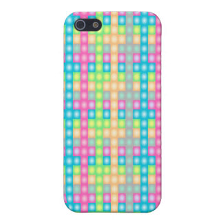 Colorful check pattern design iPhone 5/5S case