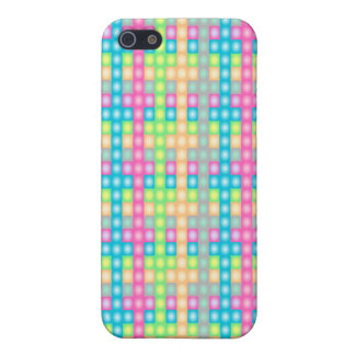 Colorful check pattern design iPhone 5 cover