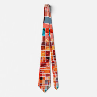 Colorful checked Tie