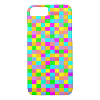 Colorful checkered iPhone 8/7 case