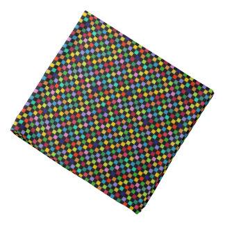 colorful checkered pattern bandannas