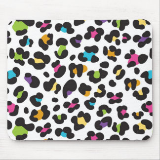 Colorful Cheetah Leopard Print Gifts for Teens Mouse Pad