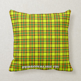 Colorful chess cushion