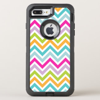 Colorful Chevron OtterBox iPhone 7 Plus OtterBox Defender iPhone 7 Plus Case