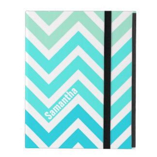 Colorful Chevron Pattern Custom iPad Case