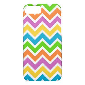 Colorful chevron stripes pattern iPhone 7 case