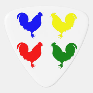 Colorful Chicken Plectrum