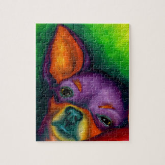 Colorful Chihuahua Jigsaw Puzzle