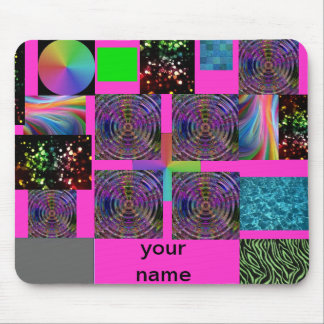 colorful childs mousepad