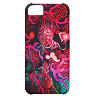 Colorful chinese dragon art iPhone 5C case