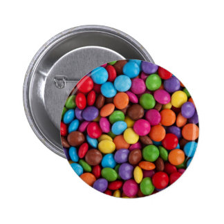 Colorful Chocolate Candy Button