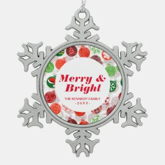 Colorful Christmas Holiday Ornaments