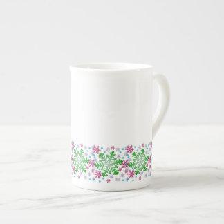 Colorful Christmas Snowflake Tea Cup