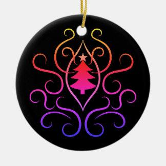 Colorful Christmas tree Christmas Ornament