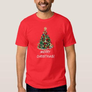 Colorful Christmas Tree: Vector Art: Tee Shirts